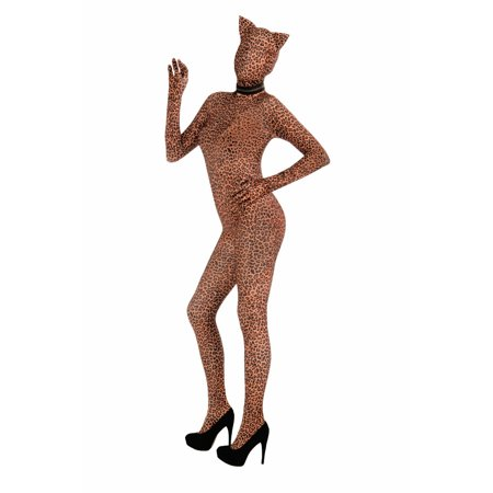 Disappearing Skin Suit Leopard Adult Unisex Costume Morph Invisible Std - image 1 of 1