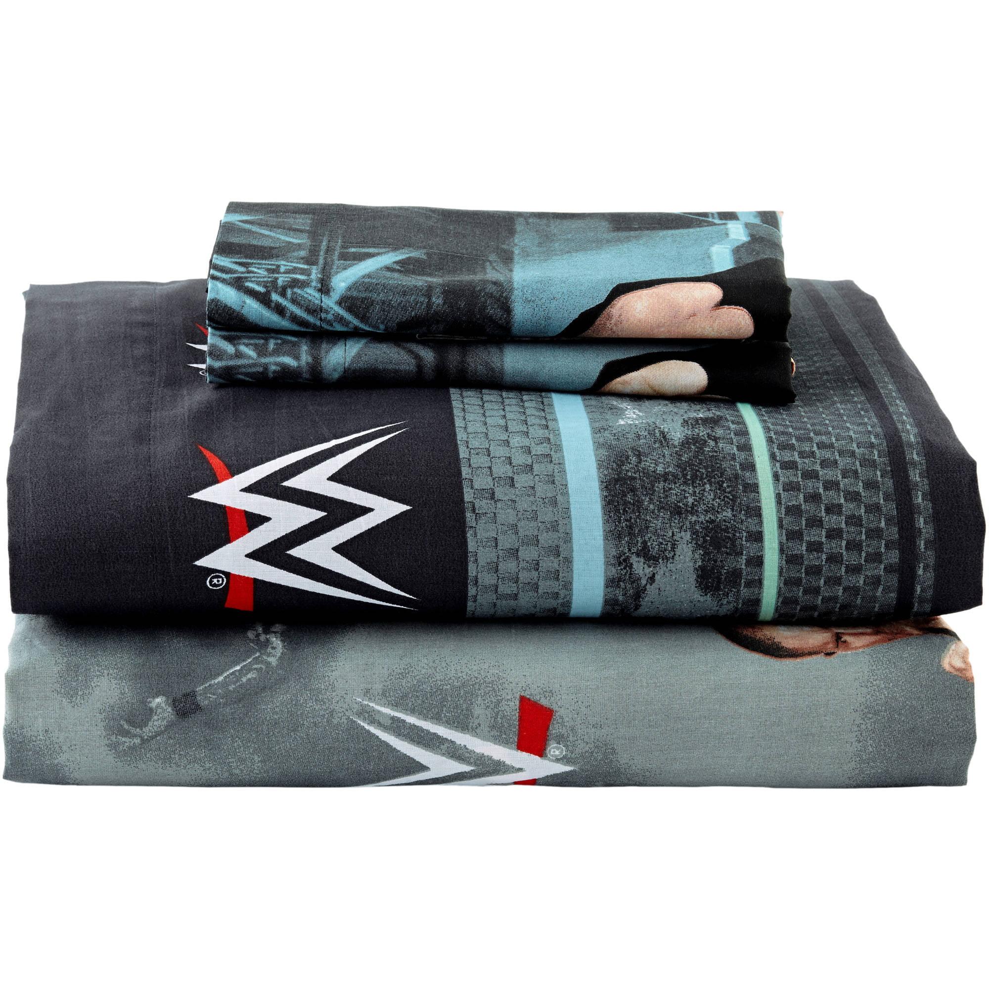 """WWE """"Industrial Strength"""" Sheet Set Walmart"""