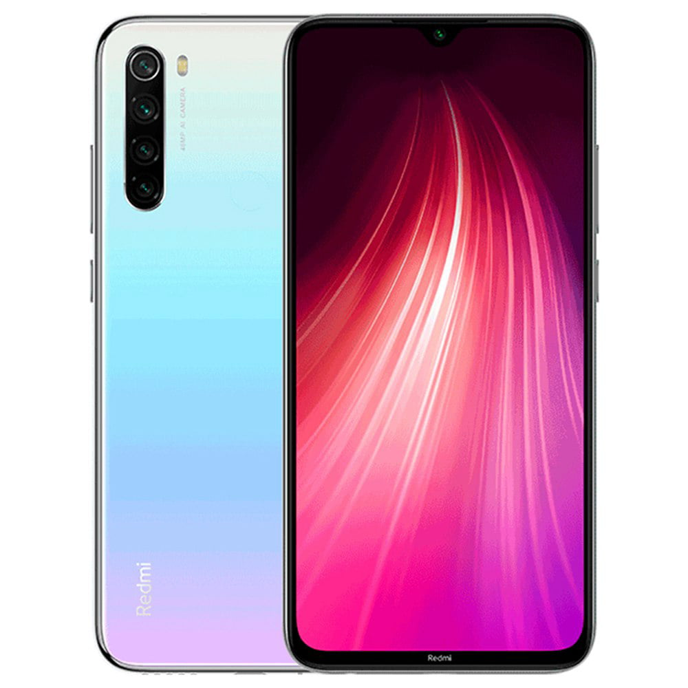 Xiaomi Redmi Note 8 64gb 4gb Ram 6 3 Lte 48mp Factory Unlocked Gsm Smartphone International Version Moonlight White Walmart Com Walmart Com