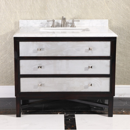 InFurniture 36'' Single Bathroom Vanity Set