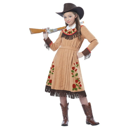 Girls Annie Oakley Costume - Mob Girl Costume