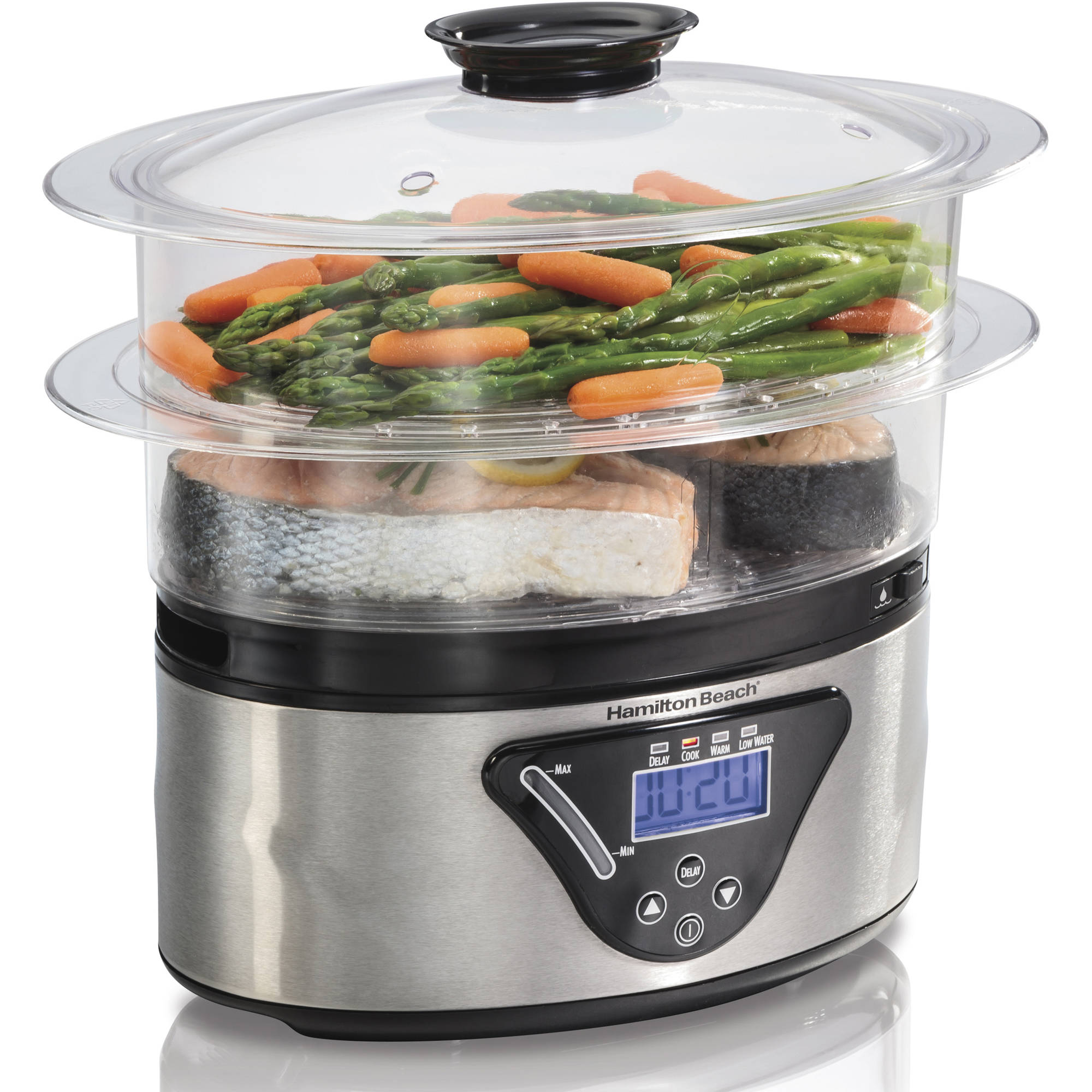 Refurbished Hamilton Beach 5.5 Quart Digital Steamer | Model# R1520