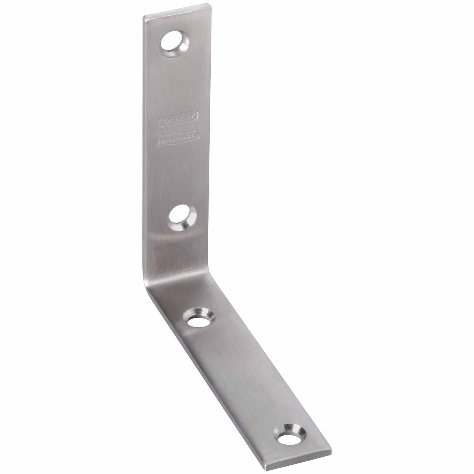 National Hardware N208-769 3 X 3//4 Galvanized Corner Braces 4 Pack