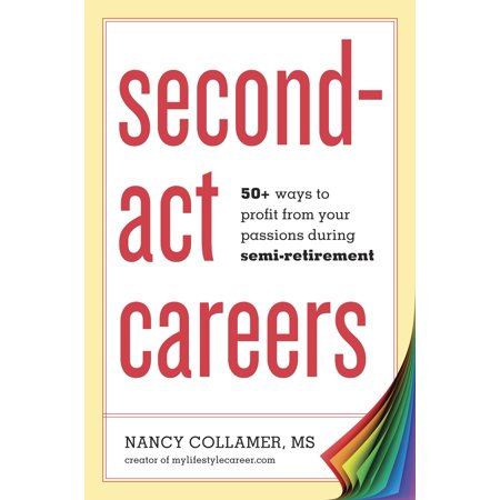 Second-Act Careers : 50+ Ways to Profit from Your Passions During (Best 2nd Career At 50)