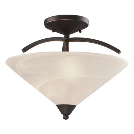 - ELK Lighting Elysburg 1743-2 Semi Flush Mount Light