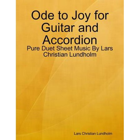 Ode to Joy for Guitar and Accordion - Pure Duet Sheet Music By Lars Christian Lundholm -