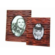 Sunshine Trading ST-06-5 Handmade Wood Photo Frame - 3.5 x 5 Inch