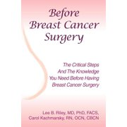 Before Breast Cancer Surgery