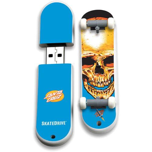 Image of Action Sport Drives 8GB Santa Cruz USB Skate Drive, Dead Pool