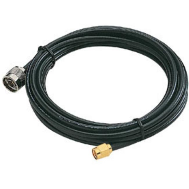 Sunpentown 15-WC03 2. 4GHz Extension Cable plus RG-58 plus SMA Male to N Male plus 5M