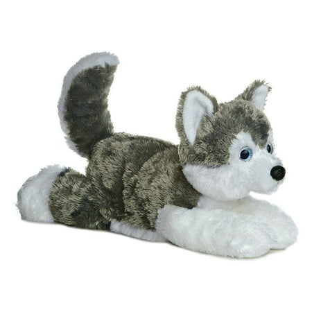 Shadow (Siberian Husky) 12'' Plush Dog by - Flopsie Series, New super soft material By (Long Haired Siberian Husky Puppies For Sale)