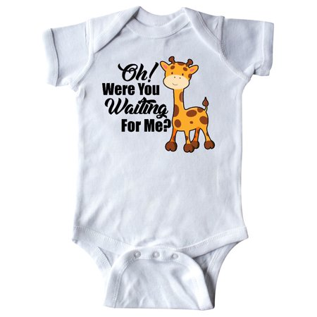 Oh Were You Waiting For Me with Baby Giraffe Infant
