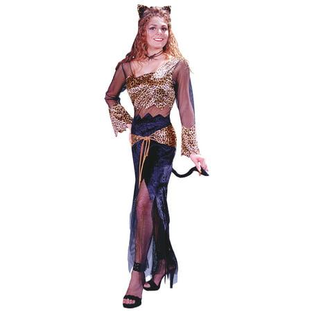 Jungle Woman Costume (Jungle Cat Jane Medium Large)