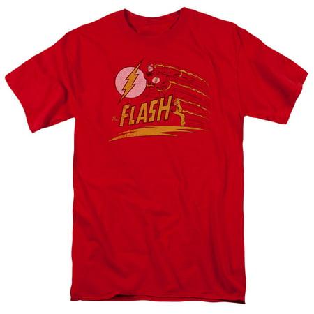 Dc Flash - Like Lightning - Short Sleeve Shirt - XXXXX-Large