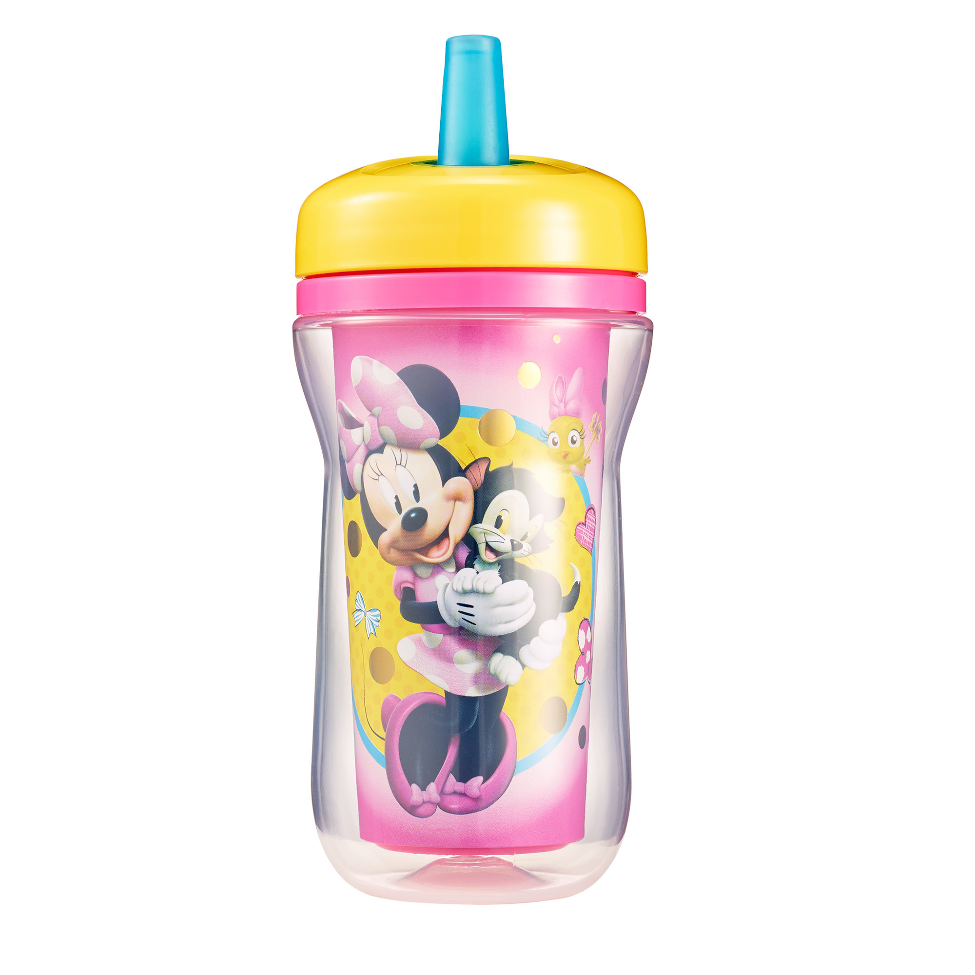 The First Years Disney Insulated BPA-Free Straw Cup & Lid, Minnie Mouse