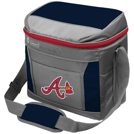 Atlanta Braves Coleman 16-Can 24-Hour Soft-Sided Cooler - No Size
