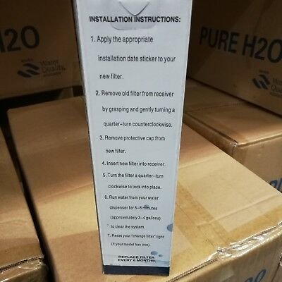 Pure H2O Refrigerator Replacement Water Filter PH21310 New In Box