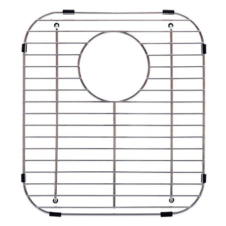 Franke FGD75 Stainless Steel Universal Double Bowl Sink Grid with Rear (Franke Bottom Grid)