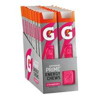 Gatorade Prime Energy Chews, Strawberry