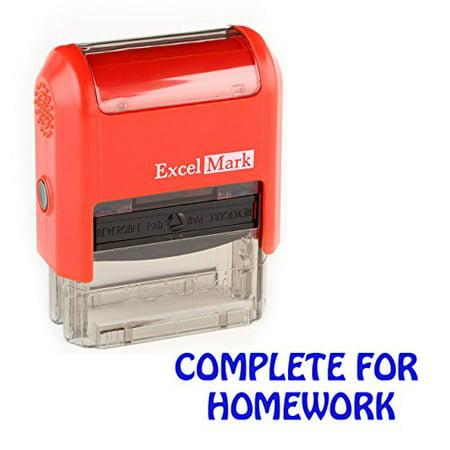 Complete Postage (Teacher Stamps - Complete for Homework (55073))