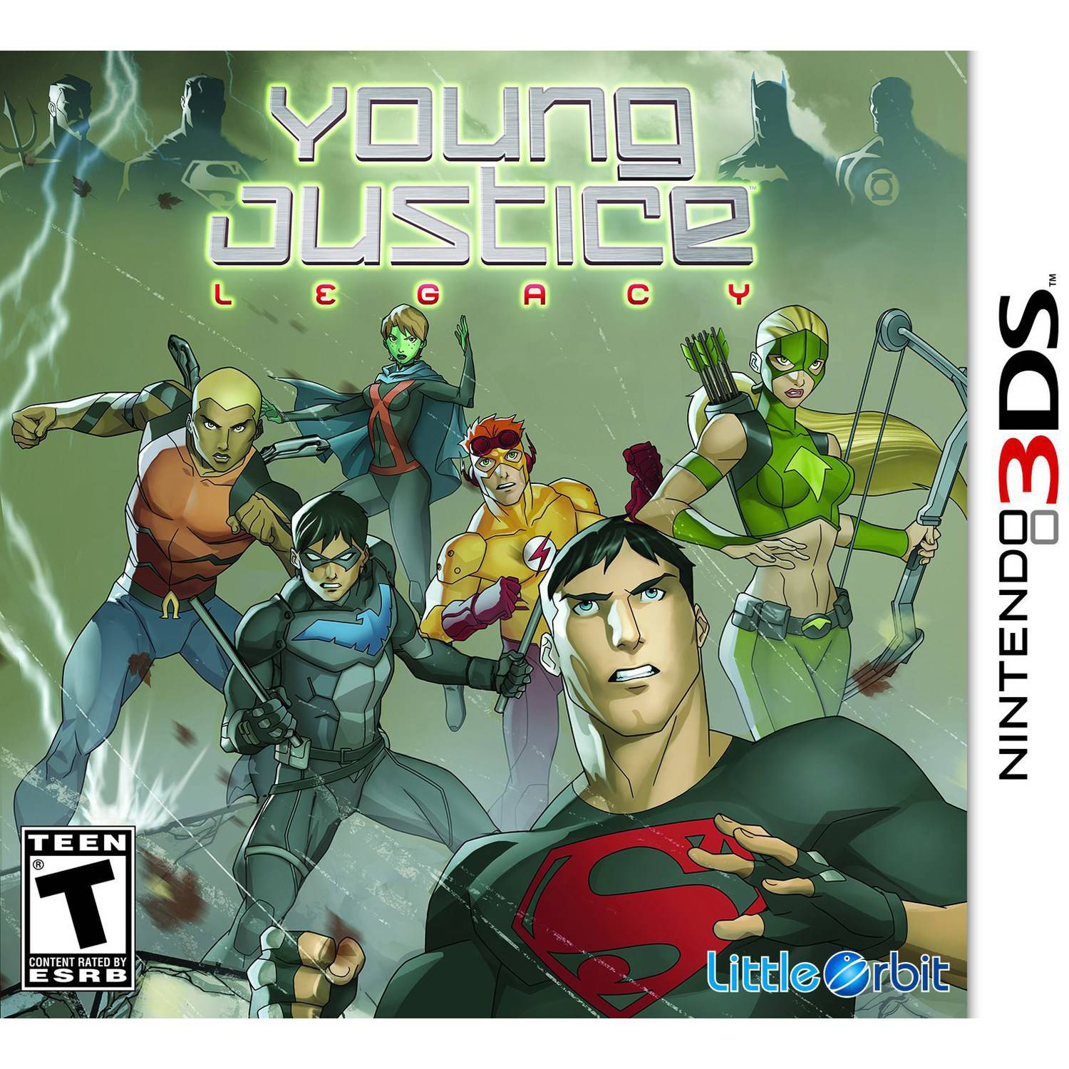 Young Justice: Legacy (Nintendo 3DS)