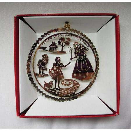 Wizard Of Oz Christmas Ornaments (Wizard Of Oz Christmas Ornament Follow The Yellow Brick Road Glinda Munchkin Dorothy)
