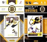 NHL Boston Bruins 2 Different Licensed Trading Card Team Sets