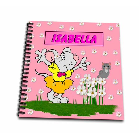 3drose Isabella Decorative Name Specific Childrens Art Memory