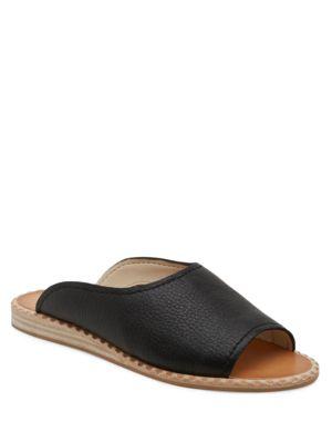 Poe Leather Slides