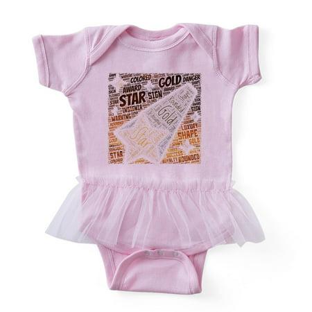 - CafePress - Flat Icon Plain Rounded Dropped Star - Cute Infant Baby Tutu Bodysuit