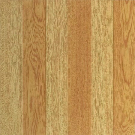 Achim Nexus Light Oak Plank-Look 12x12 Self Adhesive Vinyl Floor Tile - 20 Tiles/20 sq. ft.](Mirror Tiles 12x12)