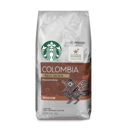 Starbucks Colombia Medium Roast Ground Coffee, 12-Ounce (Best Coffee In Cali Colombia)