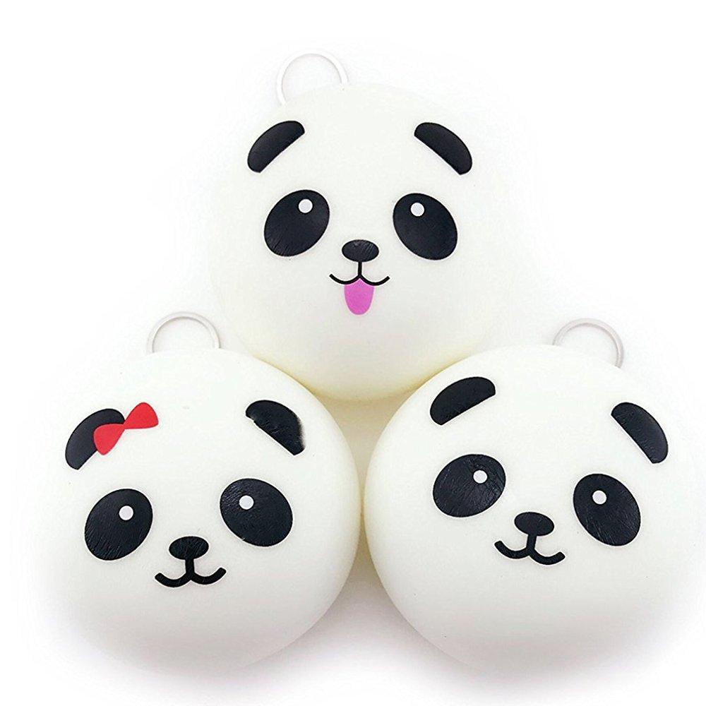 bekker 3pc jumbo squishies slow rising panda squshies ...