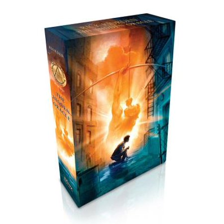 The Trials of Apollo Book One The Hidden Oracle (Special Limited Edition) (Limited Edition Well)