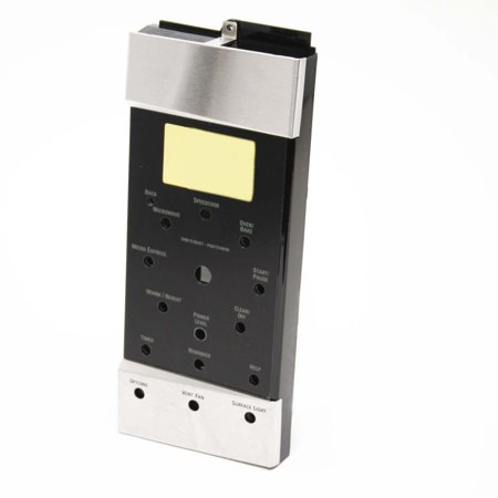 WB07X10775 GE Microwave Control Panel Asm Ss