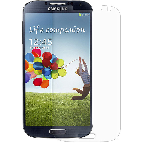 Amzer Kristal Clear Screen Protector For Samsung Galaxy S4 GT-I9500