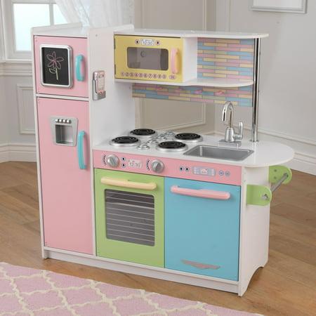 kidkraft uptown pastel kitchen. Black Bedroom Furniture Sets. Home Design Ideas