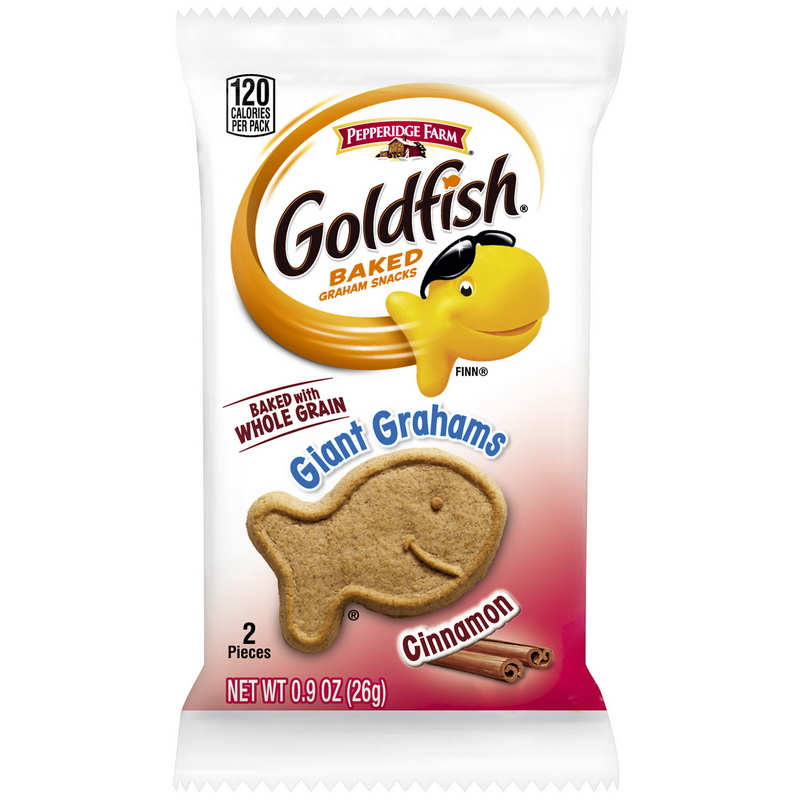 (Price/Case)Pepperidge Farms 140026830 Goldfish Cracker Giant Cinnamon 300-.9 Ounce