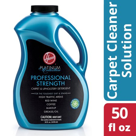 Hoover Platinum Collection Professional Strength Carpet & Upholstery Detergent, 50.0 FL OZ