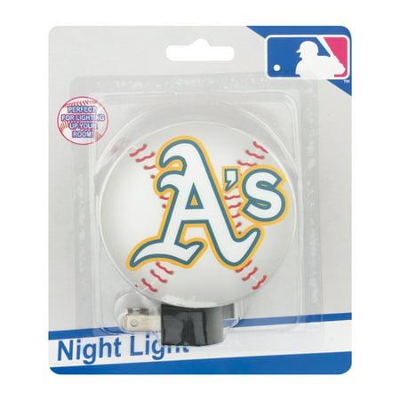 MLB Night Light Oakland A