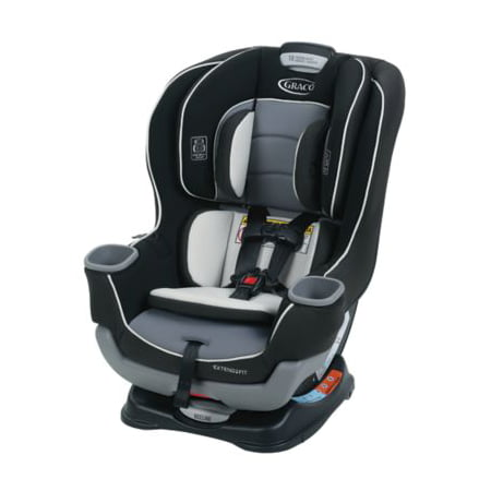 Graco Extend2Fit Convertible Car Seat, Gotham Black