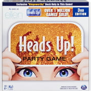 Heads Up! Party Game 3rd Edition, Fun Word Guessing Game for Families Aged 8 and up
