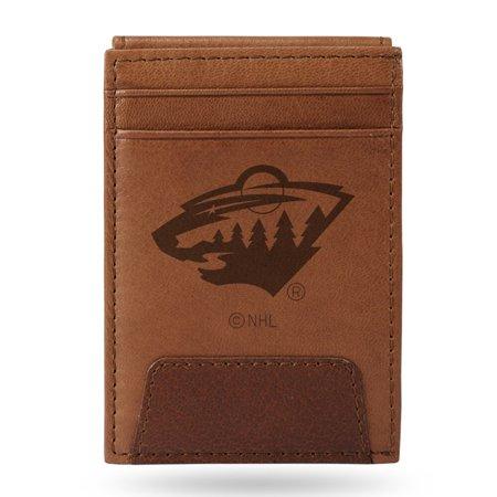 Minnesota Wild Sparo Leather Front Pocket Wallet