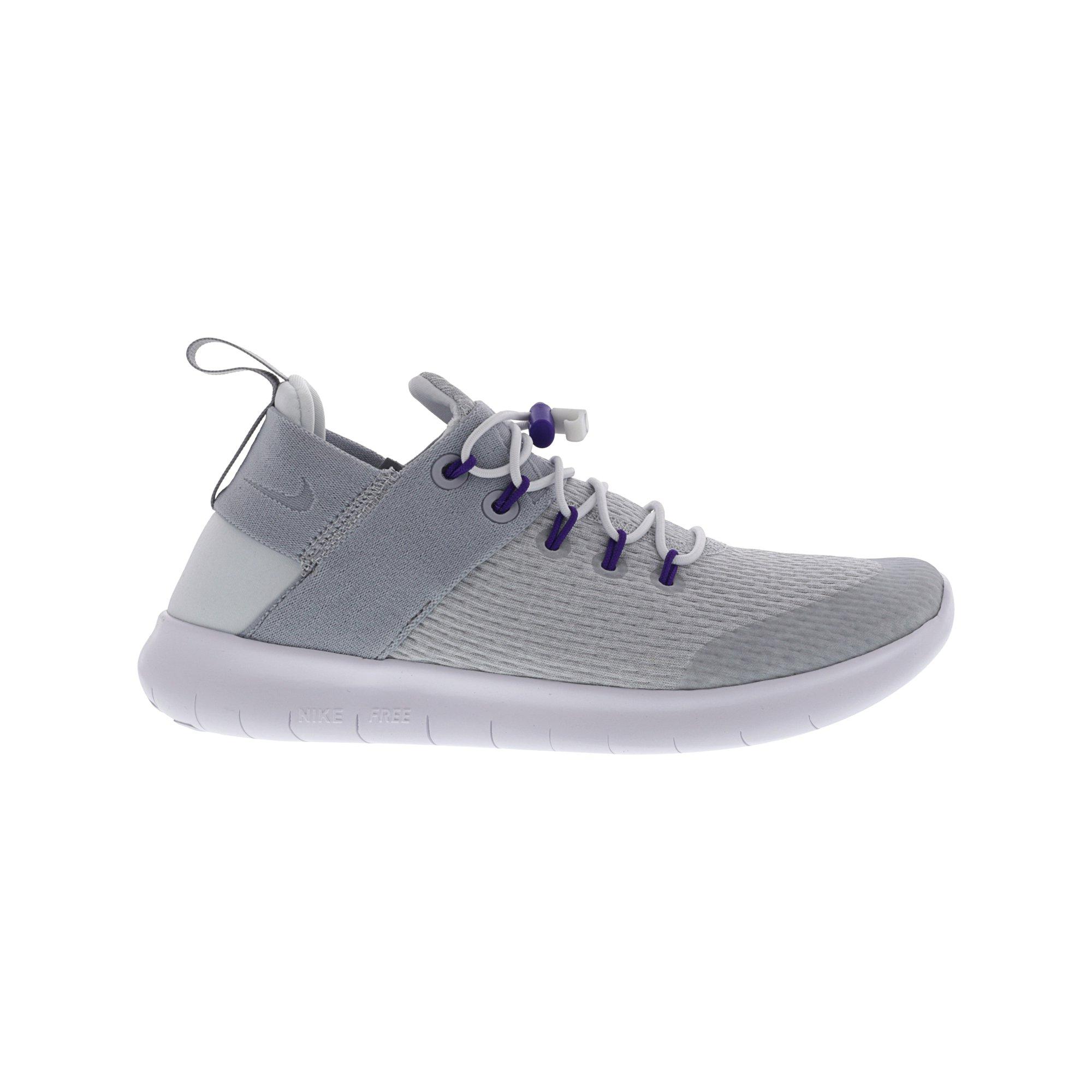 5392de61738d Nike Women s Free Rn Cmtr 2017 E White   New Green - Ankle-High Running Shoe  8M