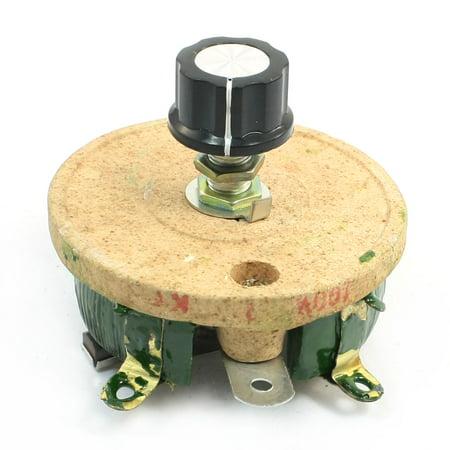 Unique Bargains Wirewound Ceramic Potentiometer Adjustable Rheostat Resistor 100W 1K Ohm
