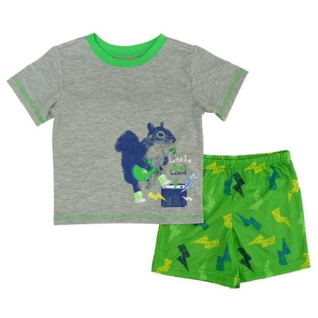 Joe Boxer Infant & Toddler Boys Little But Loud Pajamas T-Shirt & Shorts Set - Infant Halloween Costumes Boxer
