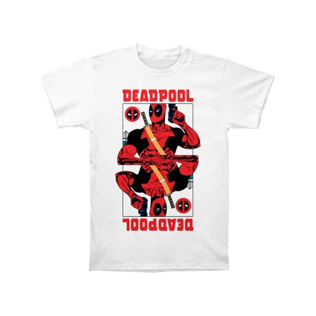 Deadpool T Shirts (Deadpool Men's  Wild Card Slim Fit T-shirt)