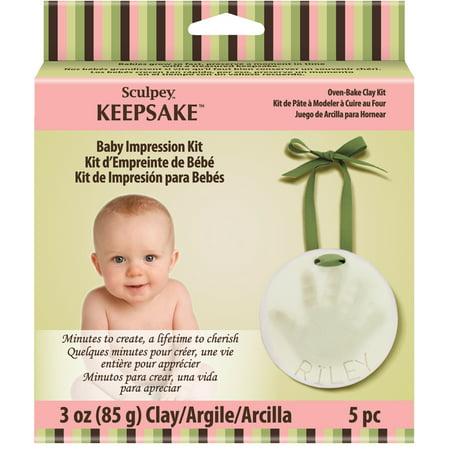 Sculpey Keepsake Clay Ornament Kit, - Reindeer Handprint Craft