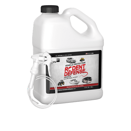 vehicle protection one gallon by exterminators choice rodent repellent for vehicle wiring. Black Bedroom Furniture Sets. Home Design Ideas