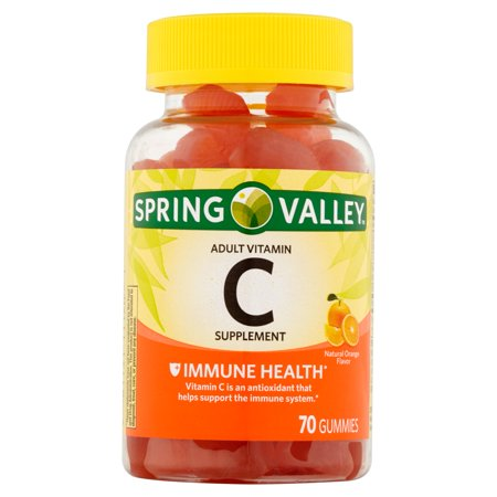 Spring Valley Dietary Immune Health Gummie C Vitamin Supplement  70 Ct